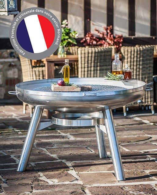 Barbecue brasero inox